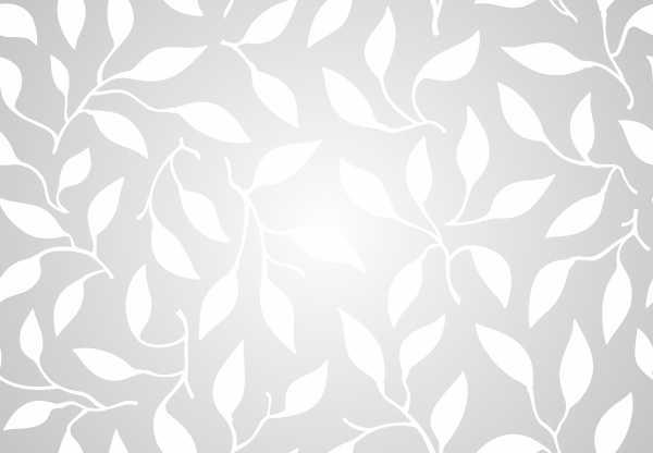Картинка трафарета с листьями